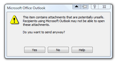 How to email a  EXE file as an attachment | computer tip