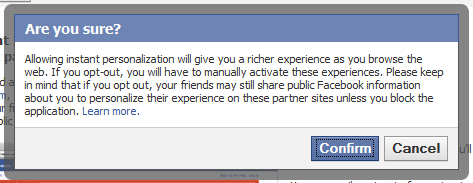 facebook warning