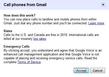 Google calls