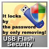 password protect flash drive