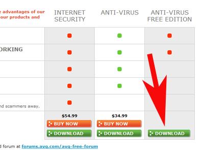 AVG antivirus 2011 free version