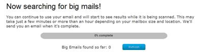 Big email status