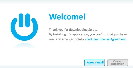 Soluto welcome