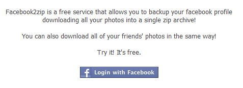 How to download all of your Facebook pictures (or a friend's