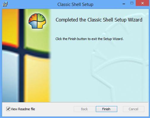 Classic Shell installer