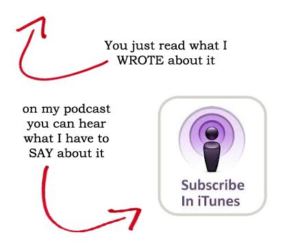 listen to my podcast in iTunes