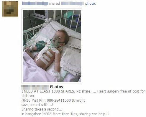 Facebook fake pictures