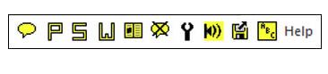 Wordtalk toolbar
