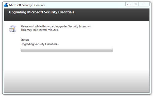Security Essentials upgrade