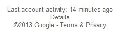 remote Gmail logout