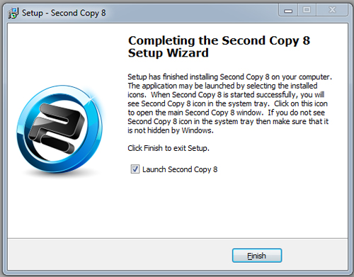 Second Copy installation