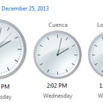 Image for How to show 2 more clocks in other time zones
