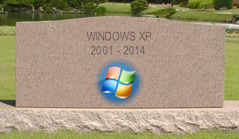 Windows XP is dead