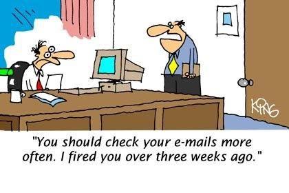 email cartoon