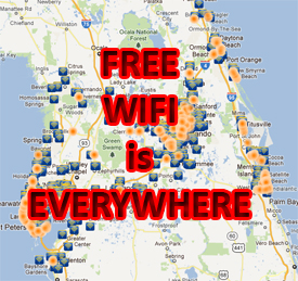 free wifi safety