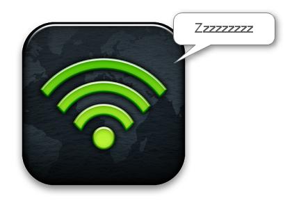 sleeping wifi