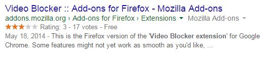 video blocker for firefox