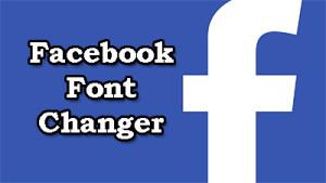 change facebook font