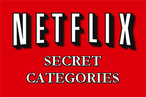Netflix secret categories