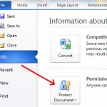 Image for How to password protect a Word document