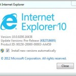 Image for Internet Explorer 10 now available for Windows 7 users