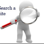 Image for How to search a site when there is no search menu