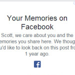 Image for How to disable the Facebook nostalgia posts
