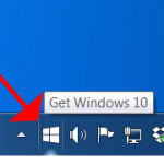 "Image for How to disable the ""Get Windows 10"" icon"