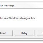 Image for How to copy and paste the contents of a Windows dialogue box
