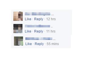Facebook follow 3 dots