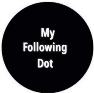 My Following Dot