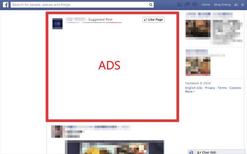 Get rid of the sponsored posts on Facebook | Facebook