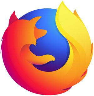 Firefox font size