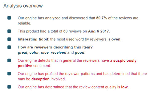 fakespot reviews