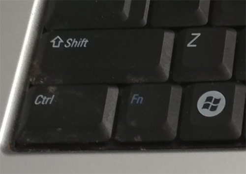 normal keyboard