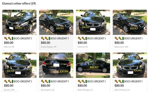 car scam