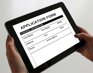 name and address form